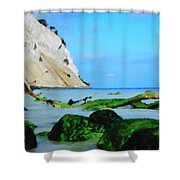 Moens Clif Nature Shower Curtain