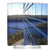 Mohegan Sun Reflections Shower Curtain
