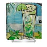 Mojito2 Shower Curtain