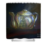 Mom's Teapot - Alice Shower Curtain