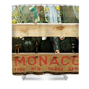 Monaco Wooden Crate Shower Curtain