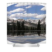 Monarch Pass Lake Shower Curtain