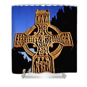 Monasterboice, Co. Louth Shower Curtain
