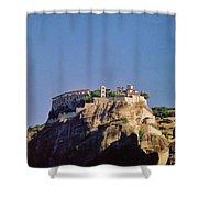 Monastery At Meteora Greece Shower Curtain