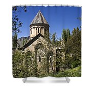 Monastery Of Ishan Shower Curtain