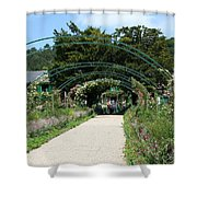 Monets Home And Garden Shower Curtain