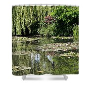 Monets Lilypond - Giverny Shower Curtain