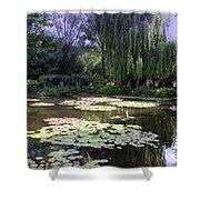 Monet's Water Garden Shower Curtain