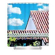 Monjunis Baton Rouge Shower Curtain