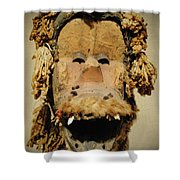 Monkey Of The Tribe Shower Curtain
