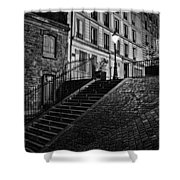 Montmartre After Dark Shower Curtain