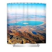 Mono Lake - Planet Earth Shower Curtain