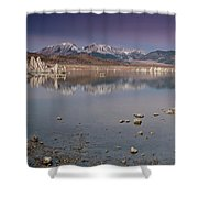 Mono Lake Panorama Shower Curtain