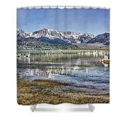 Mono Lake Sierra Shower Curtain