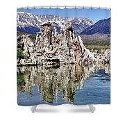Mono Lake Yosemite Shower Curtain