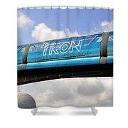 Mono Tron Shower Curtain