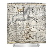 Monoceros Shower Curtain