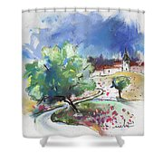 Monpazier In France 04 Shower Curtain
