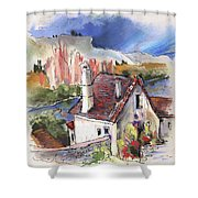 Monpazier In France 05 Shower Curtain