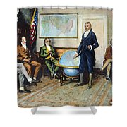 Monroe Doctrine, 1823 Shower Curtain