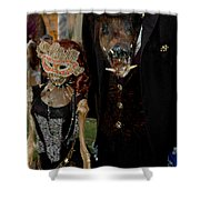 Monsters Ball Boar Shower Curtain