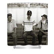 Montana Bench Boys Part II Shower Curtain