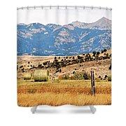 Montana Farm9404 Shower Curtain
