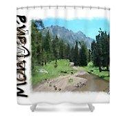 Montana Howdy Shower Curtain
