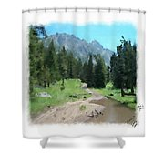 Montana Mudhole Shower Curtain