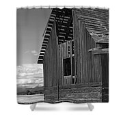 Montana Weathered Barn Shower Curtain