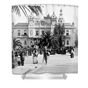 Monte Carlo - Casino - C 1898 Shower Curtain