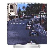 Monte Carlo Casino Corner Shower Curtain