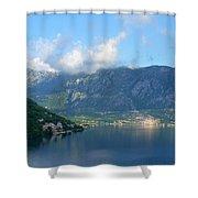 Montenegro's Bay Of Kotor Shower Curtain