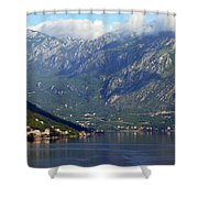 Montenegro's Black Mountains Shower Curtain