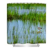 Montezuma National Wildlife Refuge Shower Curtain