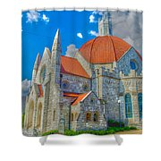 Montgomery Baptist Church Hdr Shower Curtain
