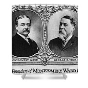 Montgomery Ward Founders Shower Curtain