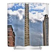 Monument Shower Curtain