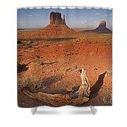 Monument Valley, Kayenta, Arizona, Usa Shower Curtain