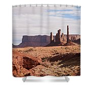 Monument Valley Totem Pole Shower Curtain