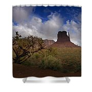 Monument Valley Vista Shower Curtain