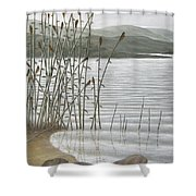 Moods Of The Lake Shower Curtain