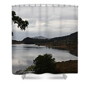 Moody Lake - Ring Of Kerry - Ireland Shower Curtain