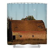 Moon Barn IIi Shower Curtain