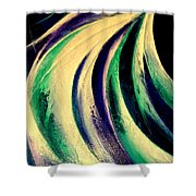 Moonlight In Water Fall Shower Curtain