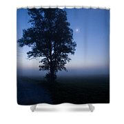 Moonlit Dawn Shower Curtain
