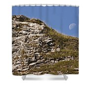 Moonlit Day Shower Curtain