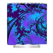 Moons Of Antiquity Shower Curtain