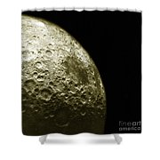 Moons Southern Hemisphere Shower Curtain by Science Source
