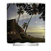 Moorea, Society Islands Shower Curtain
